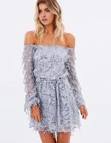 Minx Dress - Silver