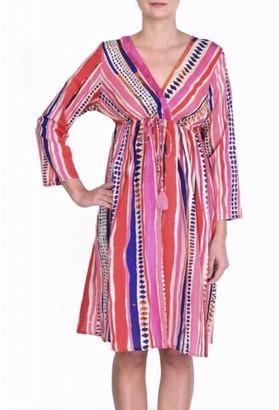 The Aloft Shop - Aloft Summer Stripe Dress - S/M / Rainbow Stripe