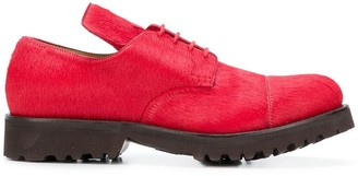 Holland & Holland Calf-Hair Lace-Up Shoes