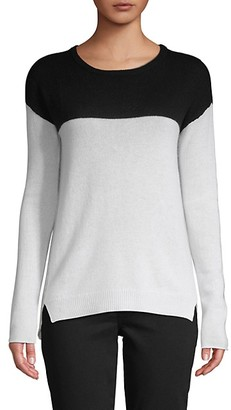 Amicale Colorblock Cashmere Sweater