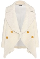 Burberry Shearling pea coat