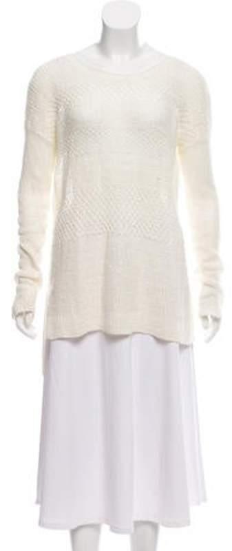 Helmut Lang Woven Linen Sweater Woven Linen Sweater