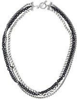 David Yurman Triple Row Chain Necklace