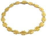Buccellati 18K Yellow Gold Oak Leaf Necklace