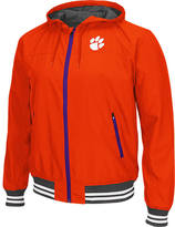 Men's Stadium Clemson Tigers College Black Ice HD Windbreaker Jacket