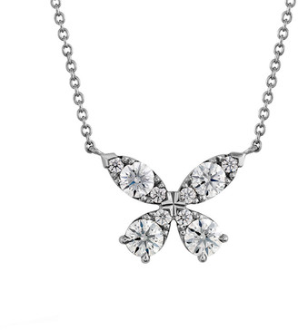 Hearts On Fire 18K 0.86 Ct. Tw. Diamond Aerial Pendant Necklace