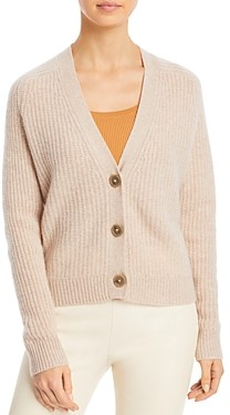 C by Bloomingdale's Cropped Cashmere Cardigan - 100% Exclusive