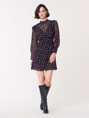 Diane von Furstenberg Elinor Devore Mini Dress