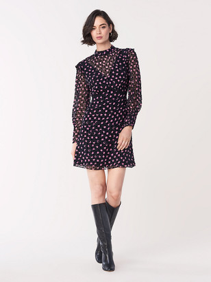 Diane von Furstenberg Elinor Devore Mini Dress