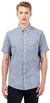 Ben Sherman Big And Tall Blue Textured Shirt