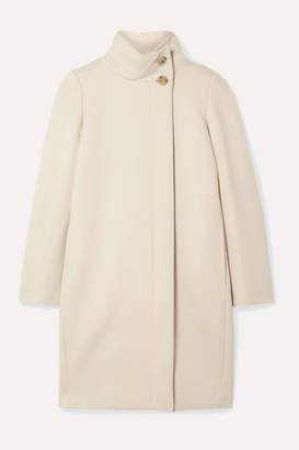 Max Mara Fire Wool And Cashmere-blend Coat - Cream