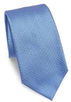 Armani Collezioni Textured Chevron Silk Tie
