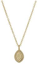 Anna Beck Gold Almond Drop Necklace