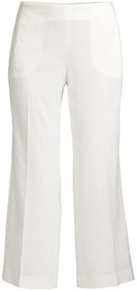 Elie Tahari Odette Crop Trousers