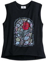 Disney Enchanted Rose Tank Tee for Juniors - Beauty and the Beast - Live Action Film