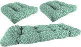 JCPenney JORDAN MANUFACTURING 3-pc. Wicker Reversible Cushion Set