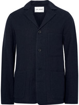 Our Legacy Blue Unstructured Virgin Wool Blazer