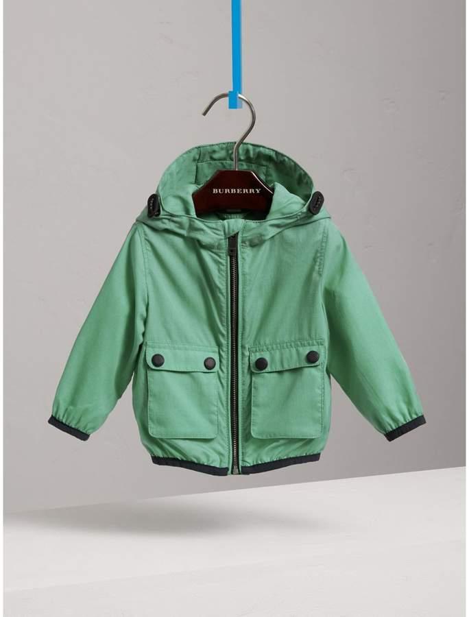 Burberry Childrens Showerproof Hooded Jacket