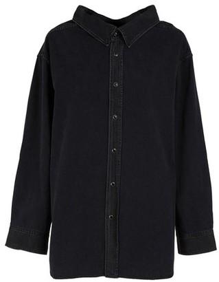 Balenciaga Swing collar denim shirt