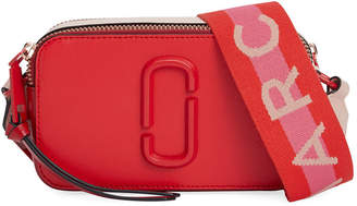Marc Jacobs The Snapshot Dual-Tone Leather Crossbody Camera Bag