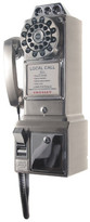 Crosley 1950's Classic Brushed Chrome Pay Phone
