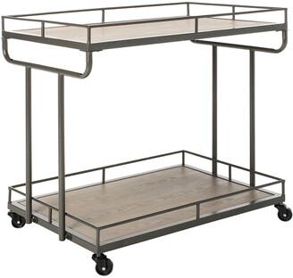 Safavieh Dawson 2 Tier Rectangle Bar Cart