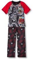 Star Wars Boys' Darth Vader Short Sleeve Pajama Set