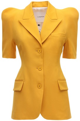 pushBUTTON Structured Cool Wool Blazer