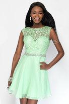 Alyce Paris - 3687 Short Dress In Mint