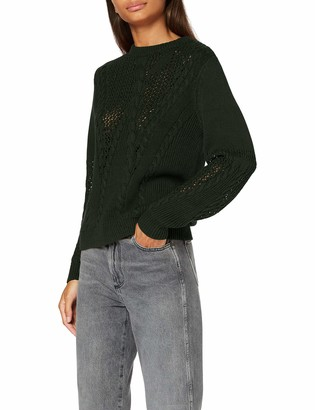 Pieces Women's PCBELMA LS O Neck Knit BC Sweater
