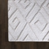 The Well Appointed House Global Views Hand Tufted Maze Rug in Ivory-Available in Four Different Sizes