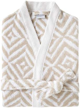 Yves Delorme Ombrage Cotton Bath Robe
