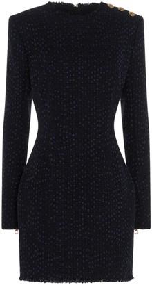 Balmain Tweed Sheath Dress
