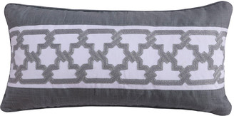 Levtex Montecito Gray Trellis Pillow