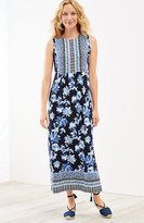 J. Jill Floral Empire-Waist Maxi Dress