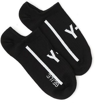 Y-3 Logo Print Trainer Socks