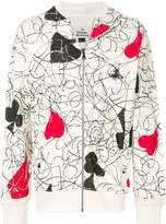 Vivienne Westwood house of cards print hoodie