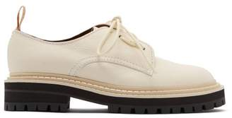 Proenza Schouler Lace-up Leather Shoes - Womens - White