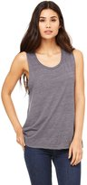 B.ella + Canvas Ladies' Flowy Scoop Muscle Tank
