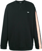 Raf Simons stripe detail sweatshirt - men - Cotton - S
