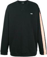 Raf Simons stripe detail sweatshirt