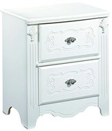 Signature Design by Ashley Ashley Furniture Signature Design - Exquisite Nightstand - 2 Drawers - Kids Room - White