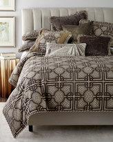 Dian Austin Couture Home King Argent Geometric Duvet Cover