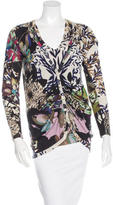 Etro Silk & Cashmere-Blend Printed Cardigan Set