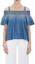 Current/Elliott Women's The Madeline Top-BLUE