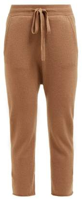 Nili Lotan Luna Cropped Track Pants - Womens - Camel