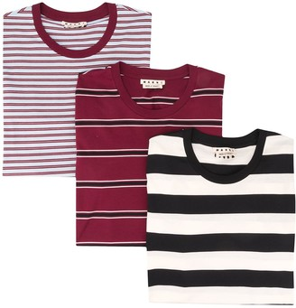 Marni 3 pack T-shirts
