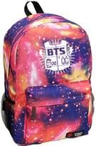 YKC Kpop BTS Bangtan Boys Sports Bags Milky Way Stars School Backpack