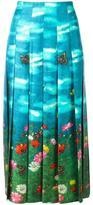 Gucci Garden print skirt - women - Silk - 42