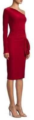 Black Halo Karima One Sleeve Sheath Dress